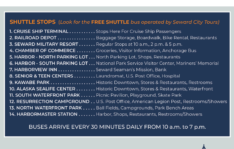 Seward Free Shuttle